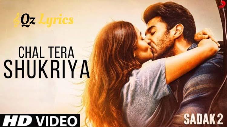 Chal Tera Shukriya Lyrics