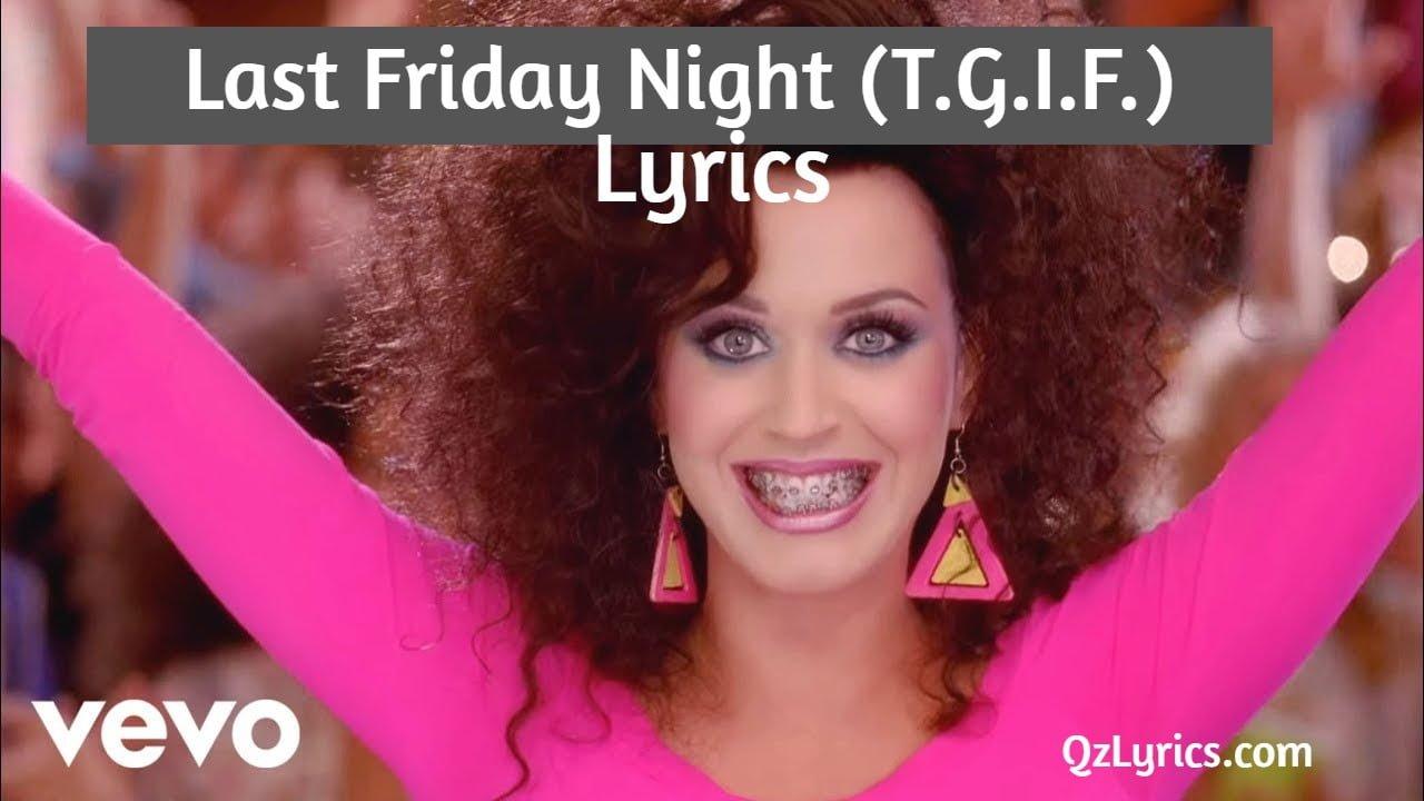 last friday night lyrics