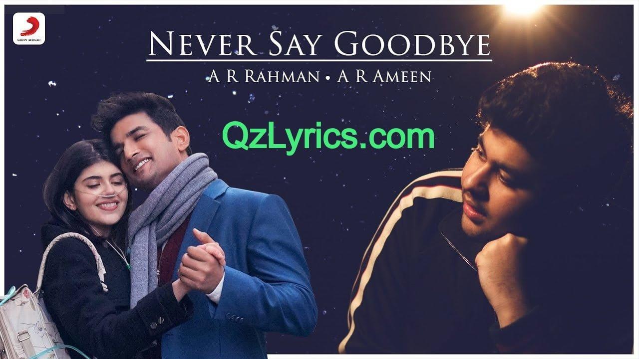 never say goodbye lyrics