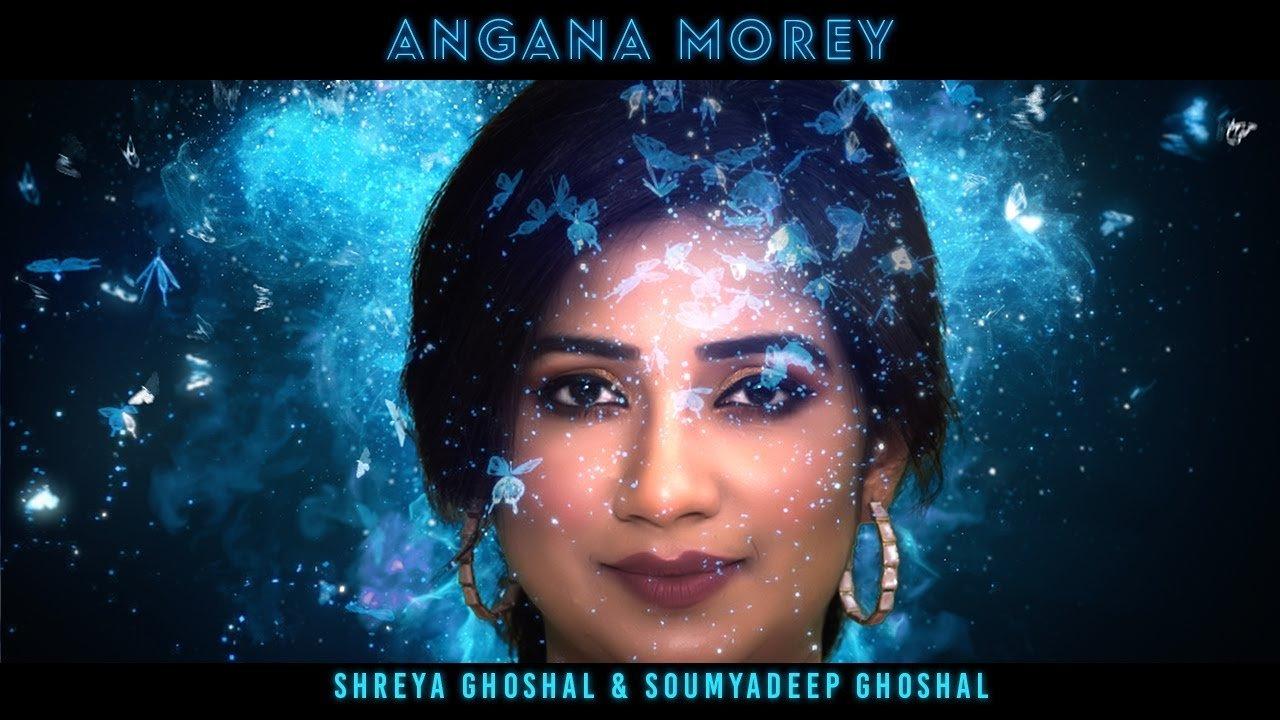Angana Morey Lyrics in Hindi