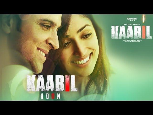 Kaabil Hoon Lyrics in Hindi, English